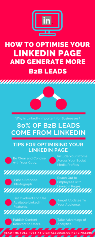 How to Optimise Your LinkedIn Page and Generate More B2B Leads