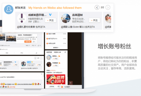 Weibo Fan Tunnel: Accounts. Source: Chozan