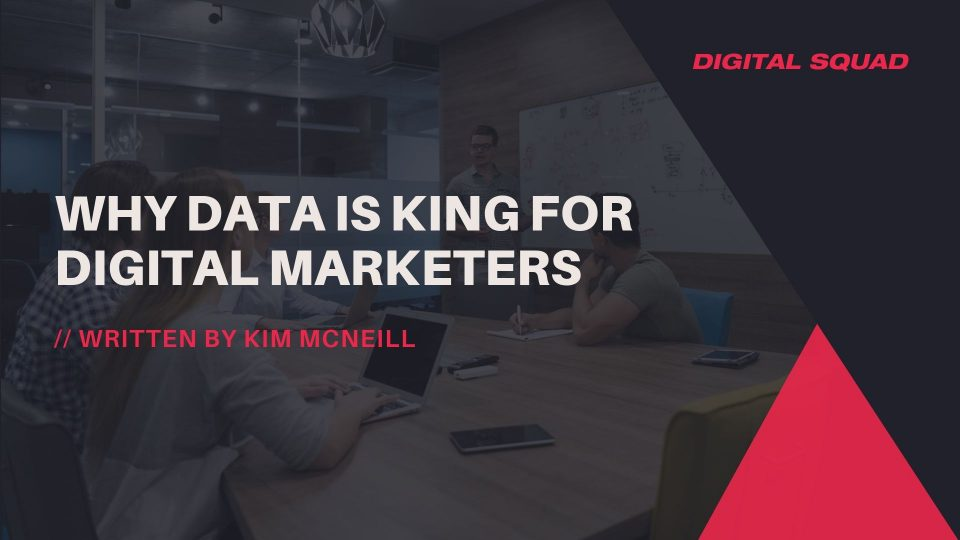 data for digital marketers