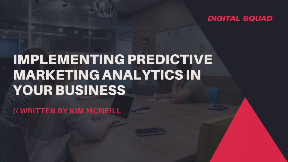 Predictive Marketing Analytics
