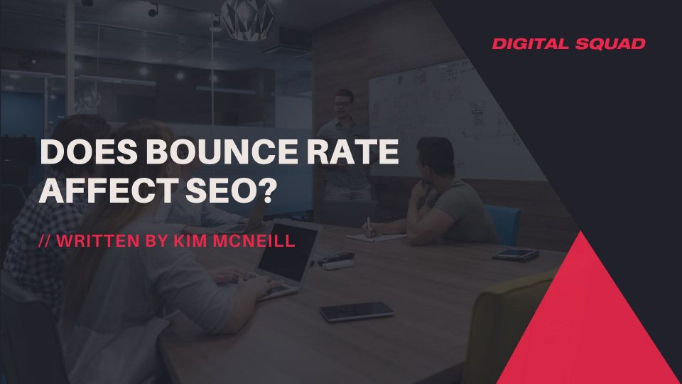 Bounce Rate SEO