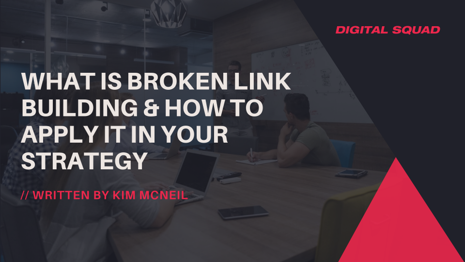 broken link building strategy by seo agency singapore