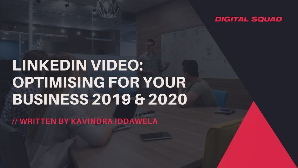 linkedin video marketing 2019